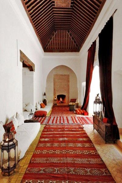 Riad marroquí