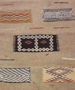 alfombra marroquí detalle
