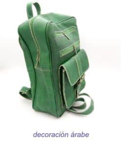 mochila mujer cuero colores