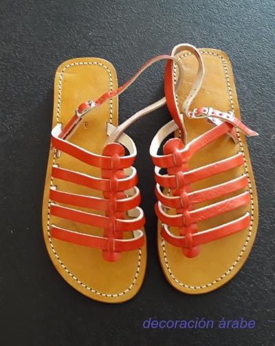 sandalias mujer cuero verano