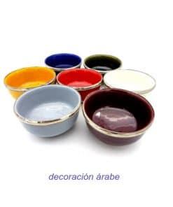 boles de cerámica marroquí
