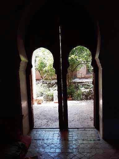 patio árabe marroquí