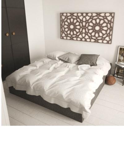 cabecero cama celosía árabe