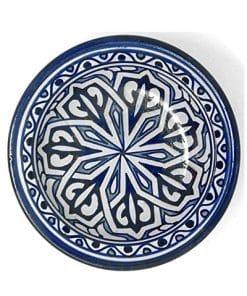 plato cerámica marroquí