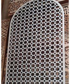 ventana celosía árabe