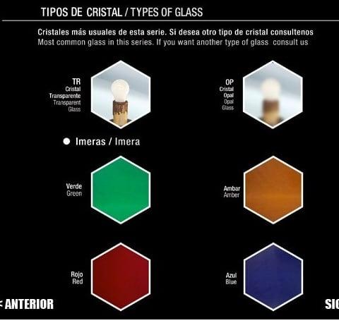 cristales colores farol granadino