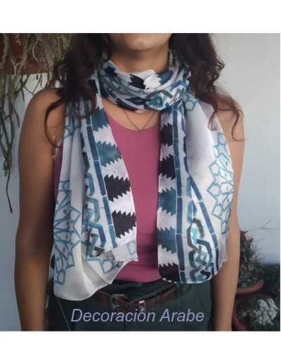 fulard seda Alhambra