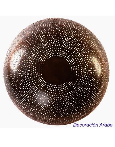 aplique dorado plafón árabe