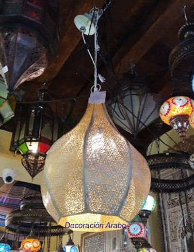lampara de India colgante