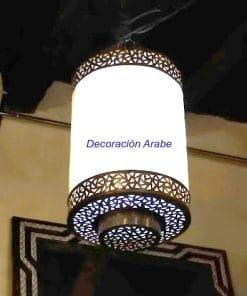 lampara colgante marroquí