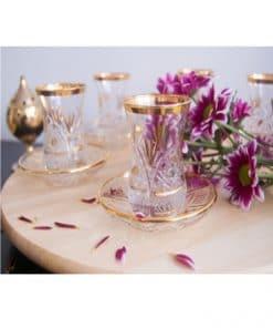vasos para el té turcos
