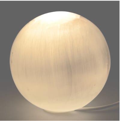 lampara de selenita redonda