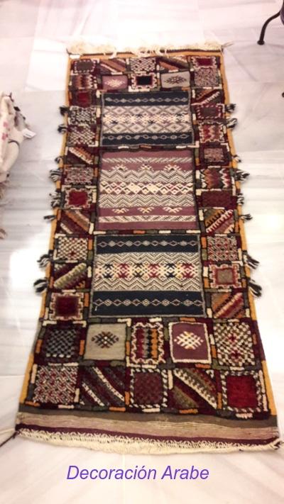 alfombra marroquí lana
