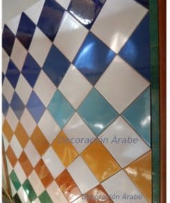 azulejo artesanal andaluz modelo Baños