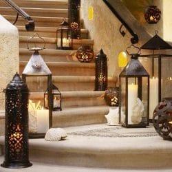 decoración arabe y artesanía marroquí