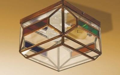 plafon andaluz cristales de colores